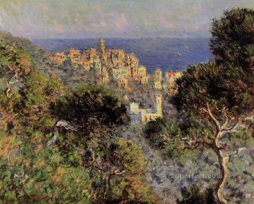 Claude Monet Painting - View of Bordighera Claude Monet